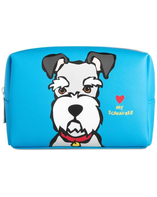 Marc Tetro - Blue Westie Large Cosmetic Case - Lyst