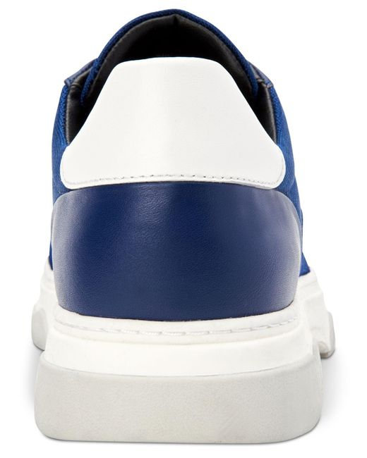 17286fea815 ... Calvin Klein - Blue Pauly Sneakers for Men - Lyst ...