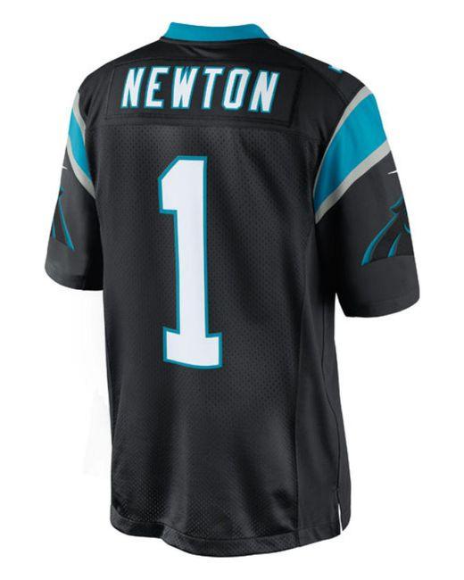 Nike - Black Men's Cam Newton Carolina Panthers Limited Jersey for Men - Lyst