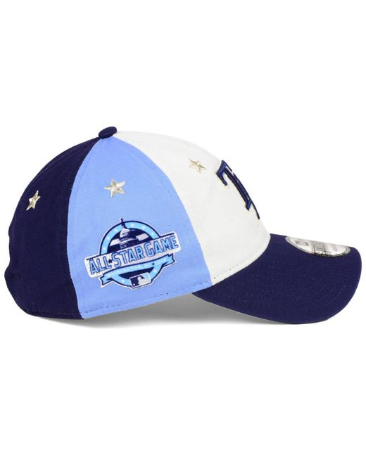 def2c00774dc6 ... KTZ - Blue Tampa Bay Rays All Star Game 9twenty Strapback Cap 2018 for  Men ...