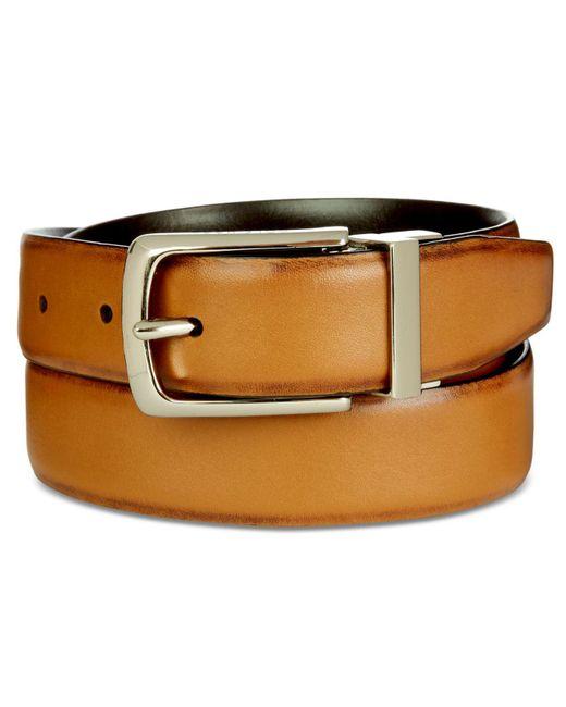 Cole Haan - Multicolor Men's Leather Reversible Belt for Men - Lyst