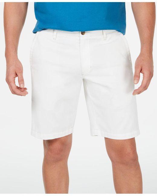 Tommy Bahama White Bedford Bay Stretch Corduroy Shorts for men