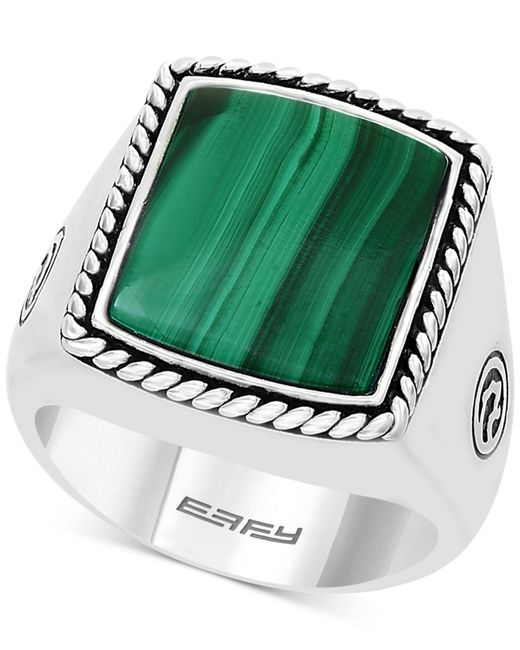 Effy Collection - Metallic Malachite Ring In Sterling Silver - Lyst