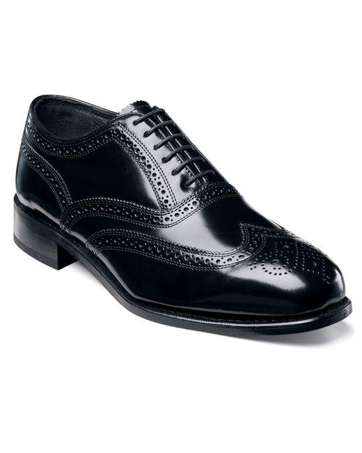 Florsheim   Black Shoes, Lexington Wing Tip Oxford Shoes for Men   Lyst