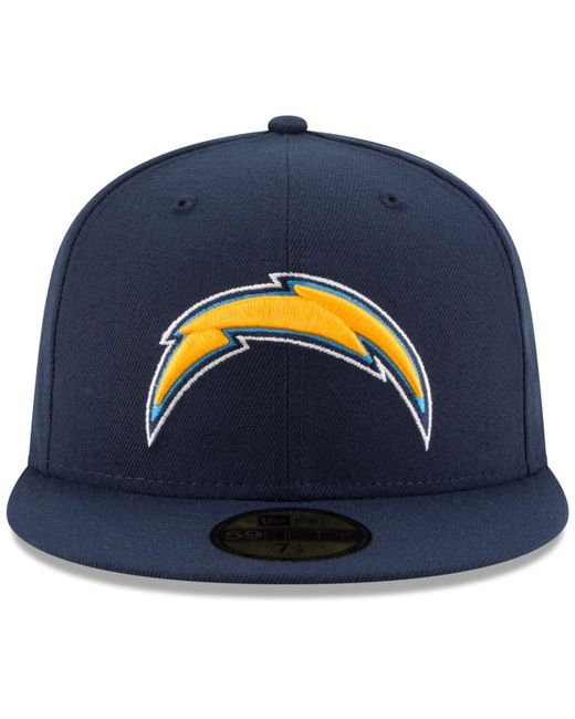 bdeed187e KTZ San Diego Chargers Team Basic 59fifty Cap in Blue for Men - Lyst
