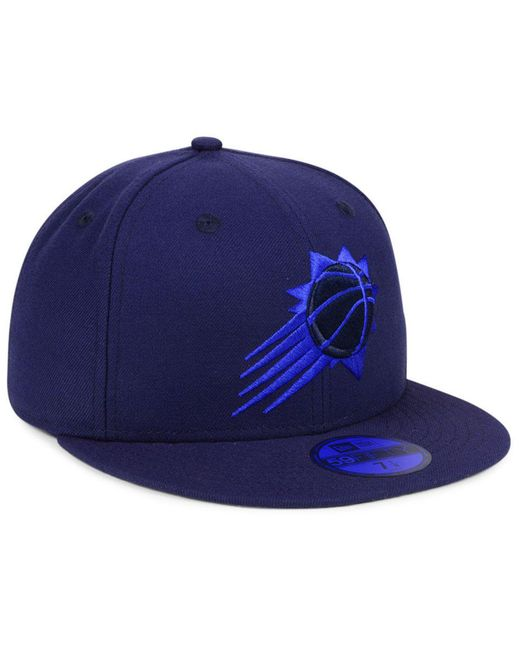 competitive price 4c112 7e484 ... new style ktz blue phoenix suns color prism pack 59fifty fitted cap for  men lyst 44a64