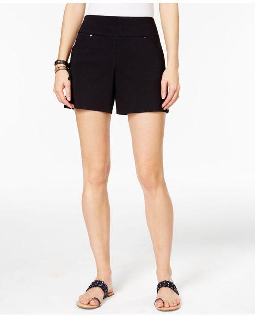 INC International Concepts - Black Pull-on Shorts - Lyst