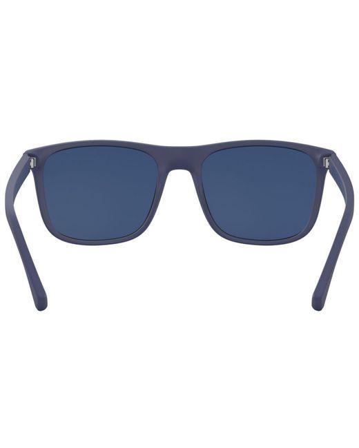 b5557a2e6dd63 ... Emporio Armani - Blue Ea4129 for Men - Lyst ...