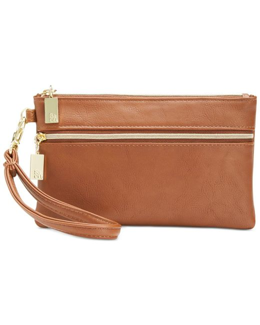 Style & Co. | Brown Wristlet | Lyst