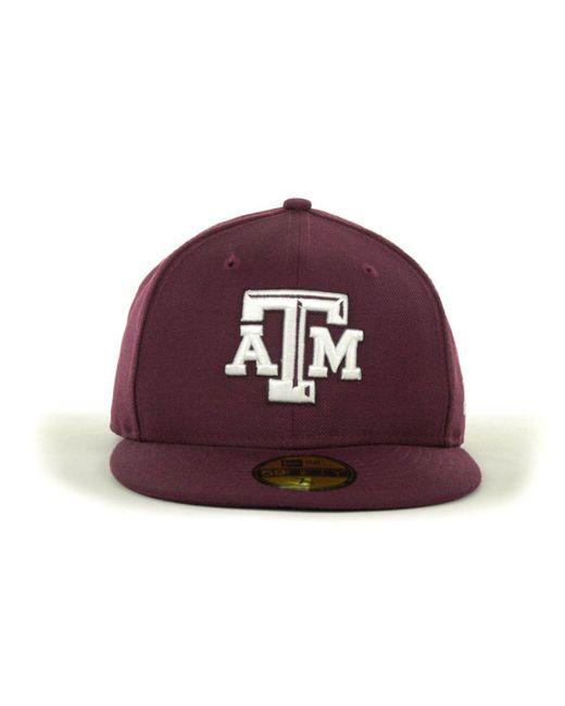 half off 30f05 782ee ... Lyst KTZ - Purple Texas A m Aggies 59fifty Cap for Men ...