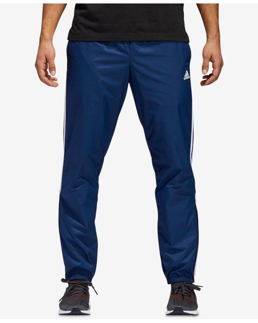Adidas - Blue Essentials Pants for Men - Lyst