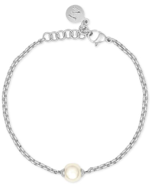 Majorica | White Silver-tone Imitation Pearl Bracelet | Lyst