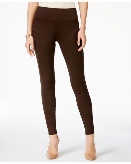 INC International Concepts   Brown Petite Seamless Leggings, Only At Macy's   Lyst