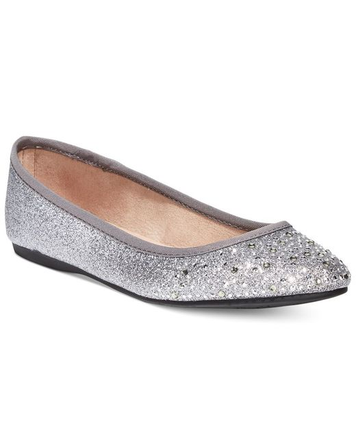Style & Co. | Metallic Angelynn Flats, Only At Macy's | Lyst