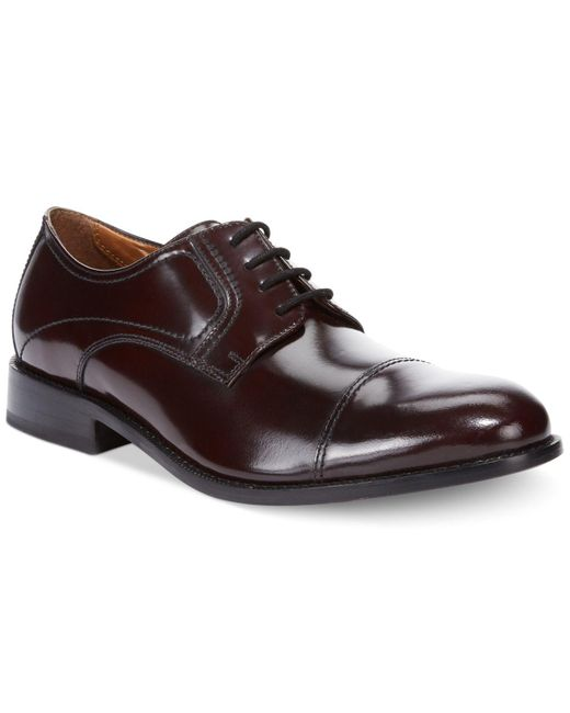Bostonian - Red Calhoun Limit Oxfords for Men - Lyst