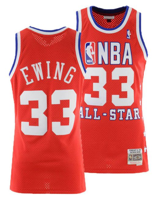 Mitchell   Ness - Red Patrick Ewing Nba All Star 1989 Swingman Jersey for  Men ... 07951a284