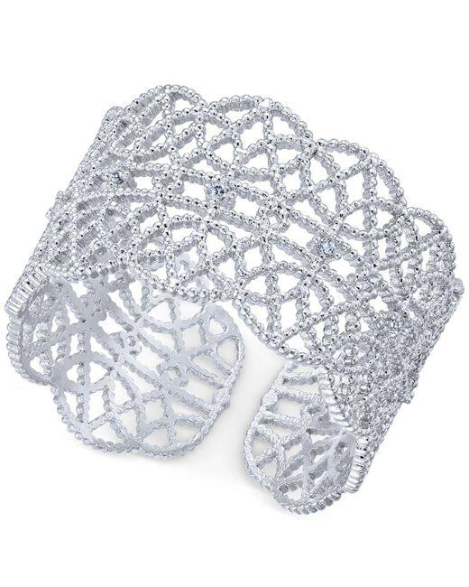 INC International Concepts | Metallic Crystal-studded Filigree Ring | Lyst