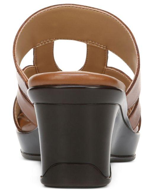 04fc55f6be1c ... Naturalizer - Brown Vanity Sandals - Lyst ...