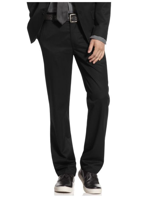 Kenneth Cole Reaction | Black Pants, Slim Fit Dress Pants for Men | Lyst