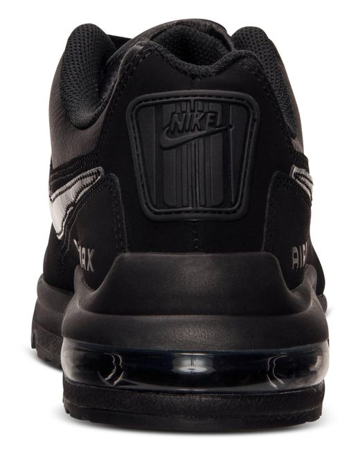 premium selection fcddd 8b31a Nike - Black Mens Air Max Ltd 3 Running Sneakers From Finish Line ...