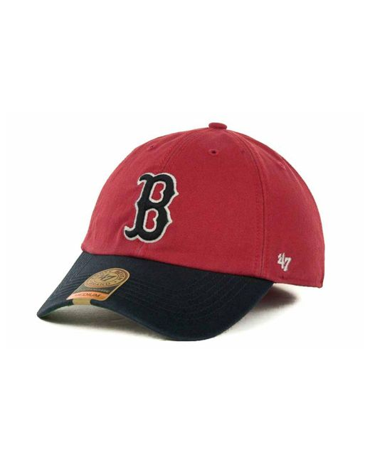 newest 0c2e1 723a5 47 Brand - Boston Red Sox Franchise Cap for Men - Lyst ...