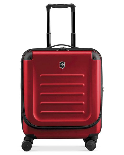 "Victorinox - Red Victorinox Spectra 2.0 21"" Extra Capacity Dual Access Carry On Hardside Spinner Suitcase - Lyst"