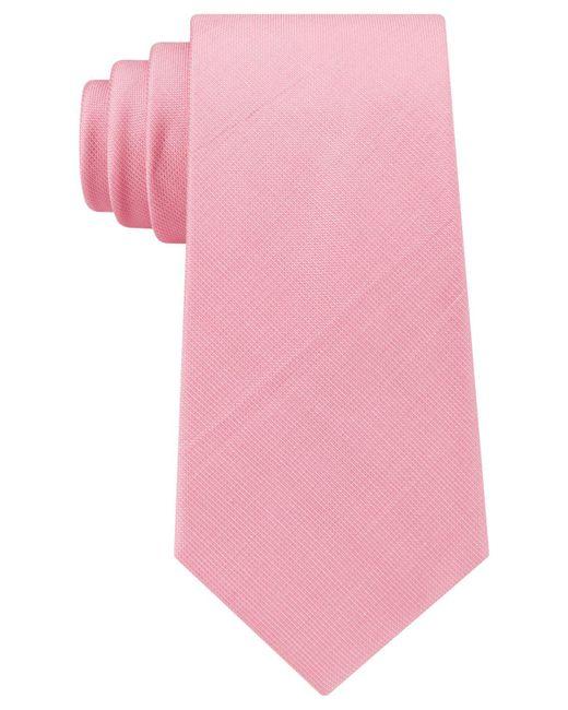 Michael Kors   Pink Men's City Solid Tie for Men   Lyst