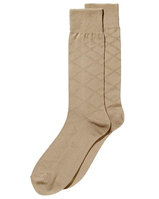 Perry Ellis - Natural Men's Luxury Textured Socks for Men - Lyst