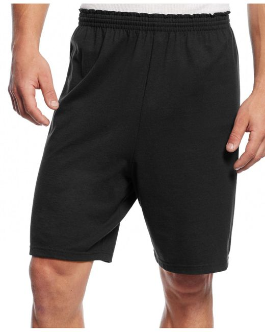 Champion | Black Jersey Shorts for Men | Lyst