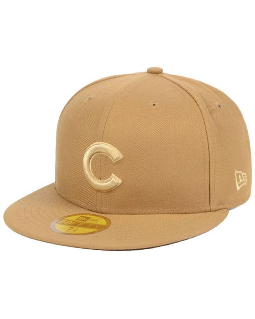 half off 347aa 4fab0 KTZ - Natural Chicago Cubs Fall Prism Pack 59fifty-fitted Cap for Men - Lyst  ...