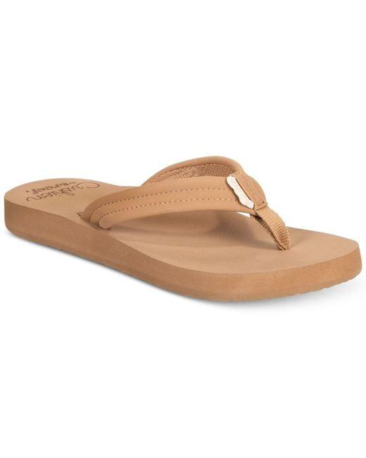Reef | Brown Cushion Breeze Flip-flops | Lyst