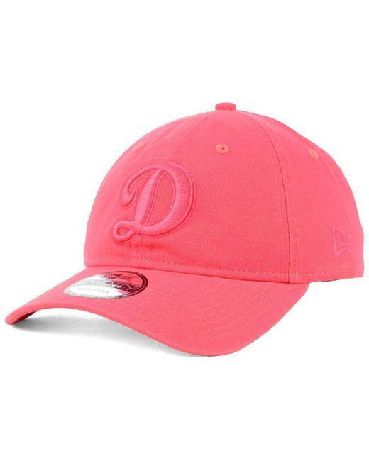 sports shoes a3d56 1400d ... canada ktz pink los angeles dodgers spring classic 9twenty cap lyst  99005 e9be6