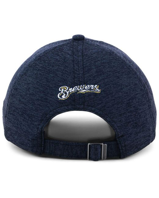 promo code 49e5b bf683 ... low cost under armour blue milwaukee brewers renegade twist cap lyst  9fa6c fb211