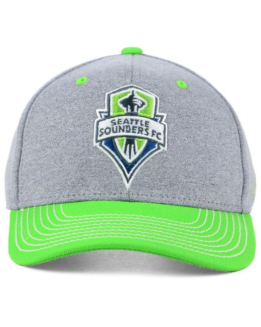 f59fd7697b0 ... Adidas - Green Seattle Sounders Fc Structure Adjustable Cap for Men -  Lyst ...