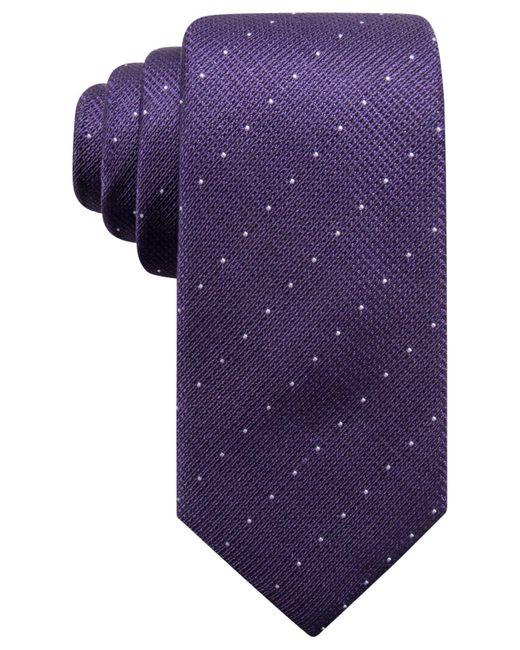 Alfani - Black Men's Parkside Dot Silk Slim Tie, Created For Macy's for Men - Lyst