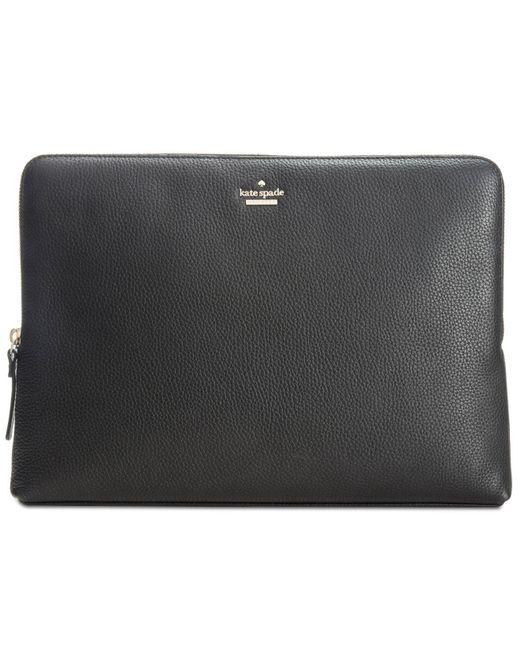 Kate Spade - Black 13-inch Laptop Sleeve - Lyst