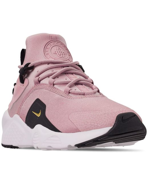 ea3affa401c10 Lyst - Nike Women s Air Huarache City Move Low Top Sneakers - Save 1%