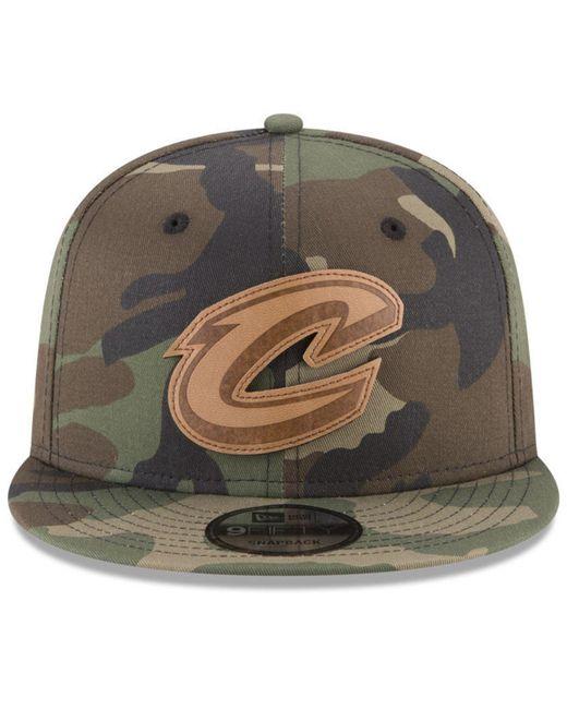 best loved 9551f b8f87 ... KTZ - Multicolor Camo 9fifty Snapback Cap for Men - Lyst ...
