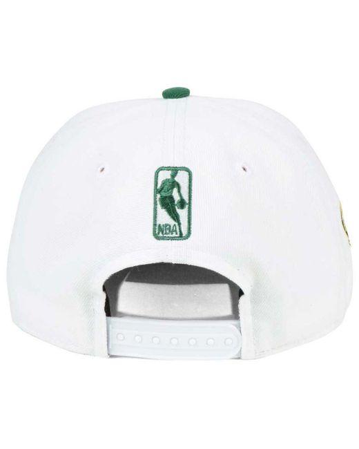 buy online 4f8f2 1a15a ... czech ktz white milwaukee bucks city series 9fifty snapback cap for men  lyst 26ccc 43377