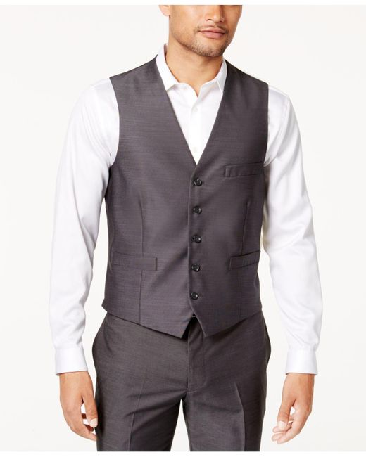 INC International Concepts - Gray Royce Vest for Men - Lyst