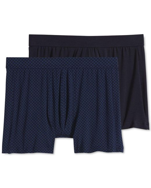 Jockey - Blue 2-pack Essential Fit Supersoft Modal Boxer Brief – Created For Macy's for Men - Lyst