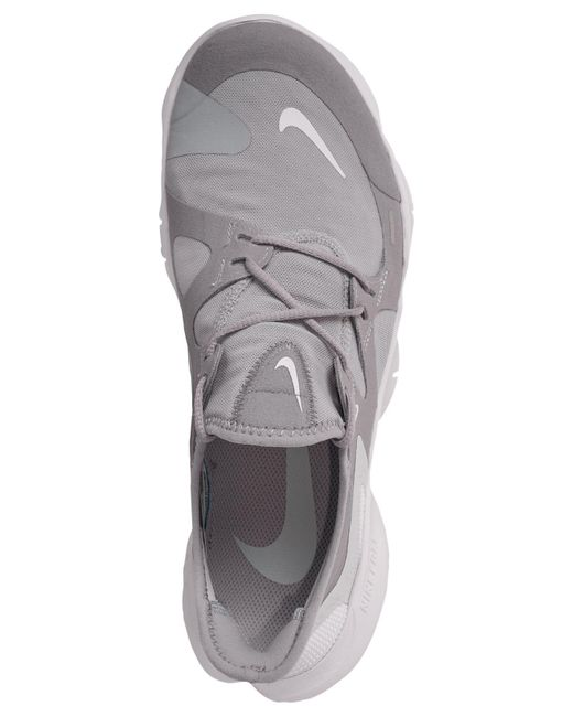 huge discount 0b856 afb54 ... Nike - Gray Free Run 5.0 Running Sneakers From Finish Line - Lyst ...