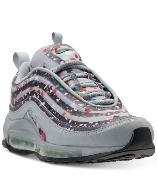 size 40 d1c3d bf9d0 ... get nike gray air max 97 ultra 2017 premium casual sneakers from finish  line lyst e1b1a