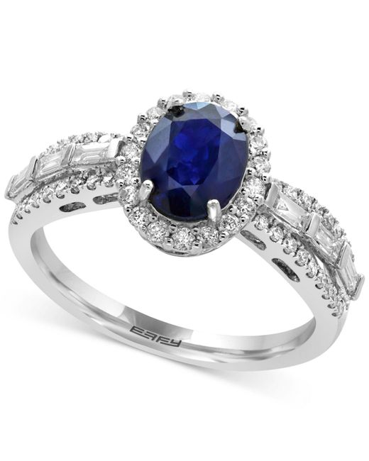 e436f4bb7 Lyst - Effy Collection Sapphire (1-3/8 Ct. T.w.) And Diamond (1/2 Ct ...