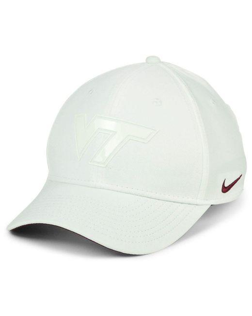 Nike - White Virginia Tech Hokies Col Cap for Men - Lyst ... ade23476ae18