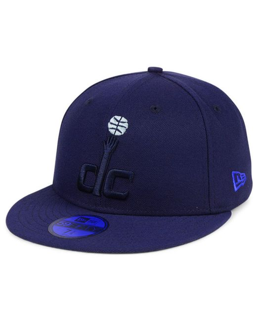 e78f825b8b0d5 KTZ - Blue Washington Wizards Color Prism Pack 59fifty Fitted Cap for Men -  Lyst ...