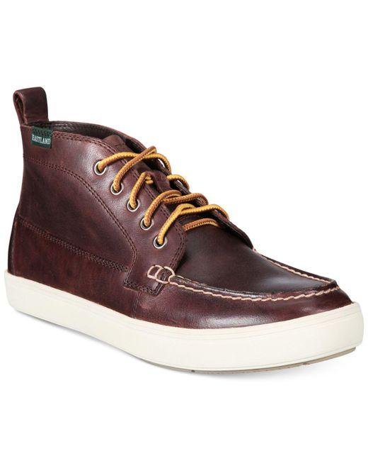 Eastland | Brown Men's Marblehead Moc-toe Boots for Men | Lyst