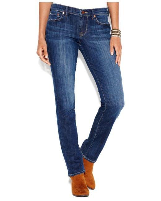 Lucky Brand - Blue Sweet 'N Straight-Leg Jeans - Lyst