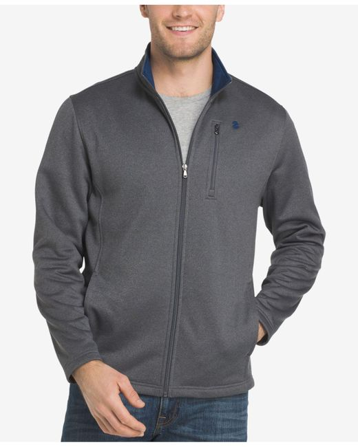 Izod - Gray Men's Advantage Performance Jacket for Men - Lyst