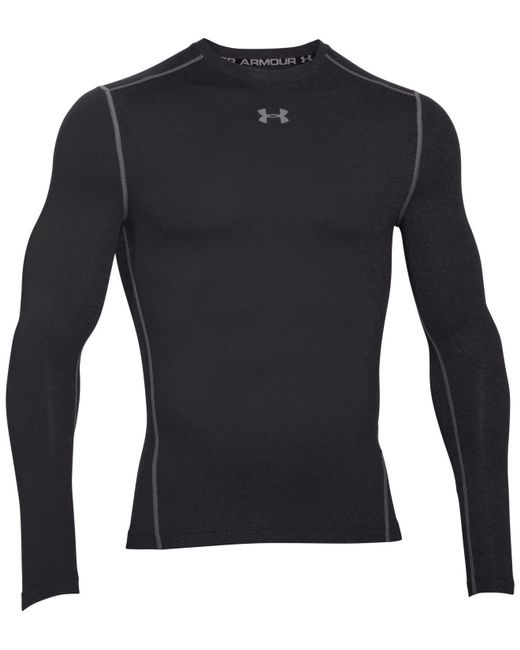 Under Armour - Black Long-sleeve T-shirt for Men - Lyst